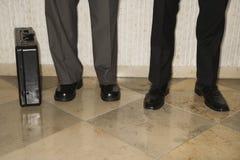 businessmens πόδια Στοκ Φωτογραφία