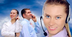 Free Businessmens Calling By Phone Royalty Free Stock Images - 10107889