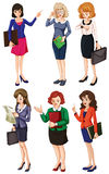 Businessminded ladies Stock Photography