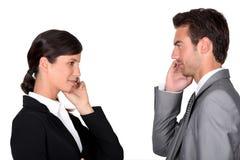 businesspartners kobiety samiec Zdjęcia Royalty Free