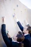 businesspeople ανάβαση στοκ φωτογραφίες