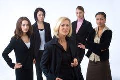 businesspeople πέντε Στοκ Εικόνες