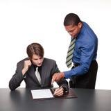 Businesspeople - σημειώσεις διασκέψεων Στοκ Εικόνες