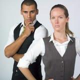 businesspeople σοβαρός Στοκ Εικόνες