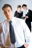 businesspeople τρία στοκ φωτογραφίες