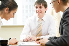 Businesspeople Royalty Free Stock Photo