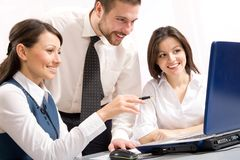 Businesspeople Royalty Free Stock Photos