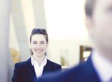 Businesspeople stock foto