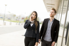 businesspeople Fotografia Stock Libera da Diritti