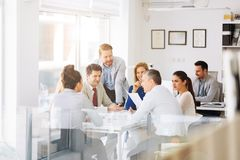 Businesspeople and architects planning. For the future Stock Image