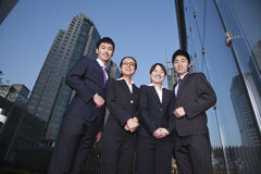 Businesspeople in Business District Stock Photography