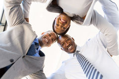 Businesspeople in a circle Stock Image