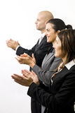 Businesspeople Clapping Royalty Free Stock Photography