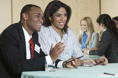 Businesspeople At Conference Meeting Royalty Free Stock Photo
