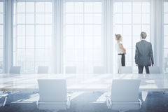Businesspeople in conference room Stock Photos