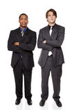 Businesspeople - confident men Stock Photos