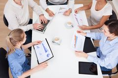 Businesspeople discussing Stock Photo