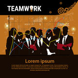 Businesspeople Group Team Brainstorm Teamwork Business Plan Strategy Concept Startup Development Banner Stock Photos