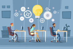 Businesspeople Group Working Creative Team Stock Photography