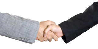 Businesspeople handshake 2 Royalty Free Stock Photography