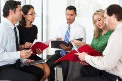 Businesspeople Having Informal Meeting Royalty Free Stock Images