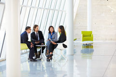 Businesspeople Having Meeting In Modern Office Stock Images