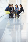 Businesspeople Having Meeting In Modern Office Royalty Free Stock Photography