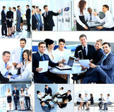 Businesspeople having meeting Stock Photo