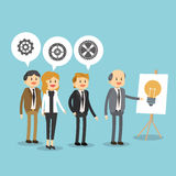 Businesspeople icon design Royalty Free Stock Photos