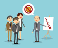 Businesspeople icon design Stock Photography