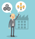 Businesspeople icon design Stock Photos