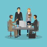 Businesspeople icon design Stock Photo