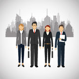 Businesspeople icon design Royalty Free Stock Photos
