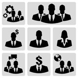 Businesspeople icons Stock Photo