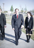 Businesspeople laughing Royalty Free Stock Photography