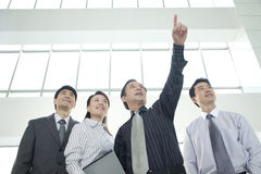 Businesspeople Looking Toward the Future Stock Photos