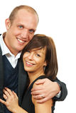 Businesspeople in love Royalty Free Stock Photo
