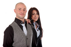 Businesspeople man woman Royalty Free Stock Photography