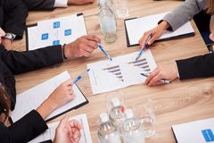Businesspeople In Meeting Royalty Free Stock Image