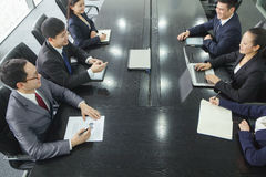 Businesspeople at a Meeting Royalty Free Stock Photography