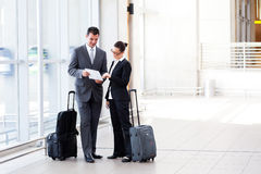 Free Businesspeople Meeting At Airport Stock Photos - 23912313
