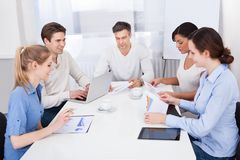 Businesspeople in meeting Stock Photography
