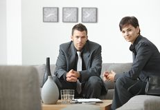 businesspeople meeting office Στοκ εικόνες με δικαίωμα ελεύθερης χρήσης