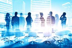 Businesspeople in meeting room Stock Images