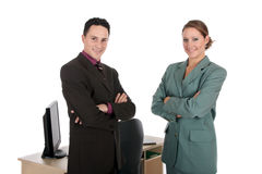 Businesspeople office Stock Images