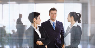 Businesspeople in office Royalty Free Stock Photography