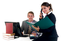 Businesspeople in office Stock Photos
