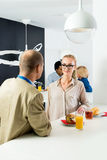 Businesspeople In Office Cafeteria Royalty Free Stock Images