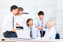 Businesspeople office Stock Photography