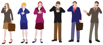 Free BusinessPeople: On Phone Stock Images - 5156004